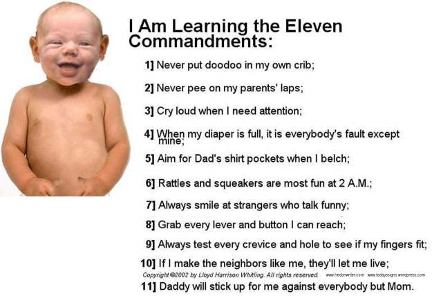The 11 Commandments