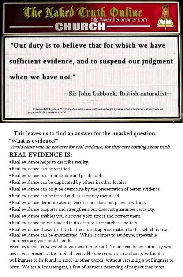 evidenceR